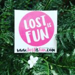 Lost is fun Sticker  do u want one? lostisfunhellip